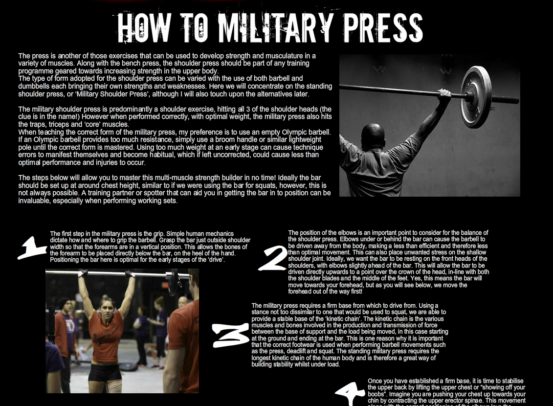 How to Military...