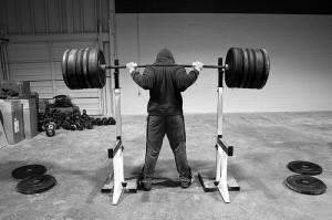 squat-racking